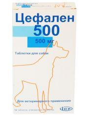 Цефален 500 мг для собак