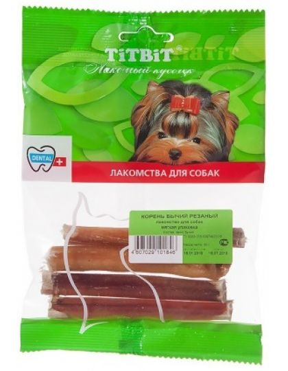 Корень бычий резаный - мягкая упаковка