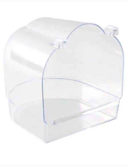Купалка, прозрачная для птиц
