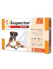Inspector (Инспектор) Quadro C, капли для собак от 25 до 40 кг