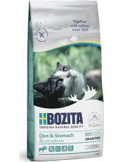 Sensitive Diet & Stomach GF беззерновой корм для кошек с чувствительным желудком и избыточным весом с мясом лося