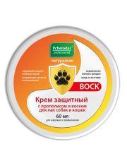 Крем защитный с прополисом и воском для лап собак и кошек