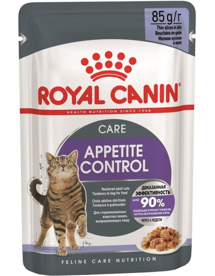 Appetite Control Care в желе для контроля выпрашивания корма для кошек