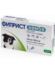 Фиприст ® Комбо капли на холку для собак 10-20 кг