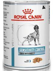 Sensitivity Control Duck with Rice (диета) с уткой и рисом при пищевой аллергии для собак