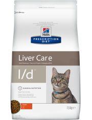 PRESCRIPTION DIET l/d для кошек с заболеваниями печени, курица