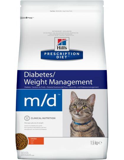 PRESCRIPTION DIET m/d для поддержания здоровья при сахарном диабете курица