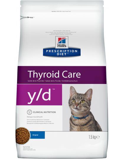 PRESCRIPTION DIET y/d для поддержания здоровья щитовидной железы