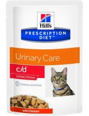 PRESCRIPTION DIET c/d Urinary Stress кошек с идиопатическим циститом