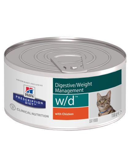 PRESCRIPTION DIET w/d при сахарном диабете и коррекции веса с курицей