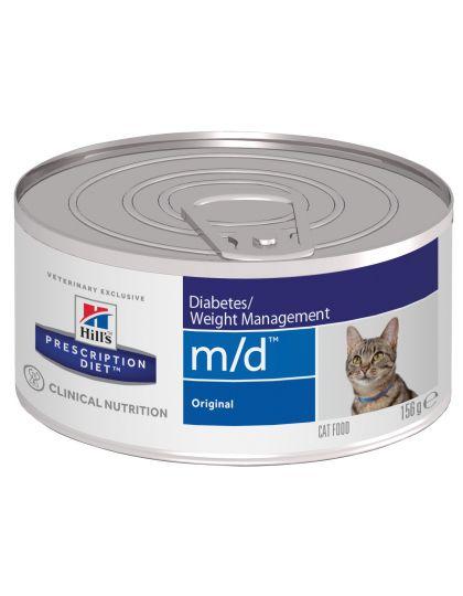 m/d Diabetes/Weight Management диетические консервы для кошек для поддержания здоровья при сахарном диабете