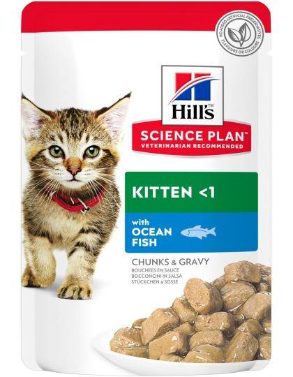 Science Plan для котят, с океанической рыбой