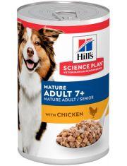 Science Plan для собак старшего возраста с курицей, паштет
