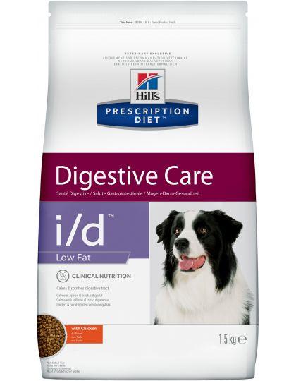PRESCRIPTION DIET i/d Low Fat Digestive Care для поддержания здоровья ЖКТ и поджелудочной железы с курицей