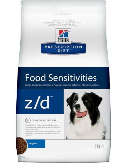 PRESCRIPTION DIET z/d  Food Sensitivities диета при лечении пищевых аллергий для собак