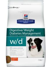 PRESCRIPTION DIET w/d для лечения сахарного диабета, запоров, колитов, с курицей