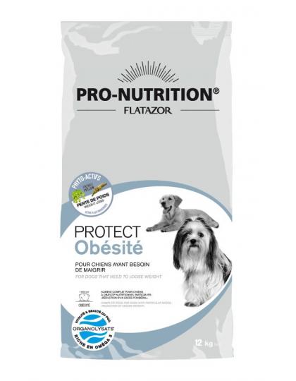 Protect Obesite /протект эбисити лечебно-профилактический корм для собак, нуждающихся в снижение веса избыточный вес превышает 20% массы