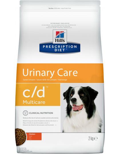 PRESCRIPTION DIET c/d Multicare для собак курица для поддержания здоровья мочевыводящих путей курица