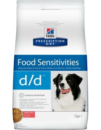 PRESCRIPTION DIET d/d Salmon & Rice Food Sensitivities для поддержания здоровья кожи и при пищевой аллергии лосось и рис