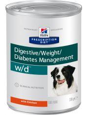 PRESCRIPTION DIET w/d Digestive/Weight Management для поддержания оптимального веса и здоровья при сахарном диабете с курицей