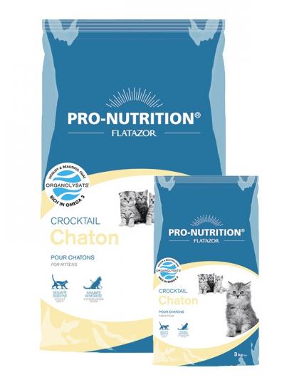 Crocktail Chaton /кроктейл для котят полнорационный корм супер-премиум класса для котят и кошек в период беременности и лактации.