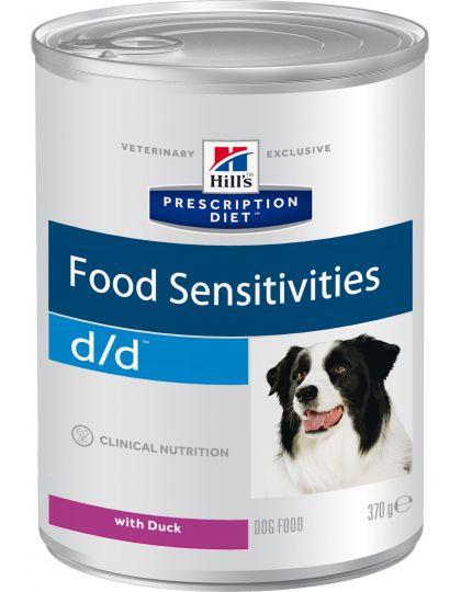 PRESCRIPTION DIET d/d с уткой для собак с пищевой аллергии