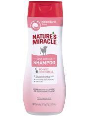 Шампунь против запаха для собак с ароматом дыни Natures Miracle Melon Burst Odor Control Shampoo