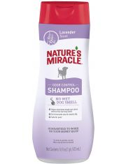 Шампунь против запаха для собак  с ароматом лаванды Natures Miracle Lavender Odor Control Shampoo