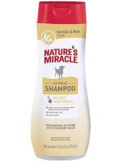 Шампунь с овсяным молочком для собак Natures Miracle Oatmeal Odor Control Shampoo