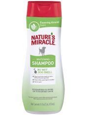 Шампунь для белых собак Natures Miracle Whitening Odor Control Shampoo