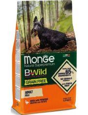 BWild GRAIN FREE Mini беззерновой корм из мяса утки с картофелем для взрослых собак мелких пород
