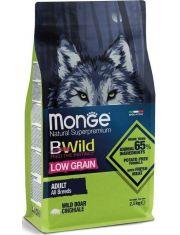 BWild LOW GRAIN низкозерновой корм из мяса дикого кабана для взрослых собак всех пород