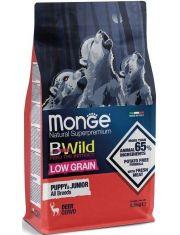BWild LOW GRAIN Puppy & junior низкозерновой корм из мяса оленя для щенков всех пород