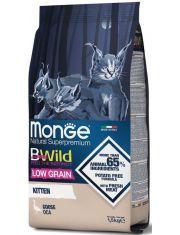 BWild LOW GRAIN Kitten низкозерновой корм из мяса гуся для котят