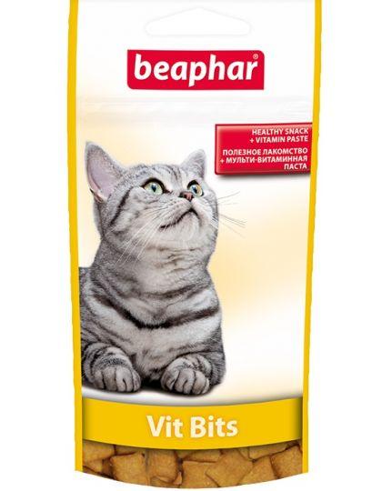 Vit Bits подушечки с мультивитаминной пастой для кошек