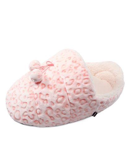 Лежанка -тапок Барс, розовая