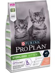 Sterilised Kitten сухой корм для стерилизованных котят с лососем