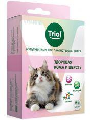 """Мультивитаминное лакомство для кошек """"Здоровая кожа и шерсть"""""""