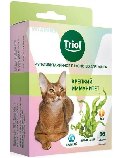 Мультивитаминное лакомство для кошек Крепкий иммунитет