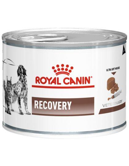 Recovery (диета) как поддерживающее и восстанавливающее питание в период выздоровления для кошек и собак или при липидозе печени у кошек (нежный мусс)