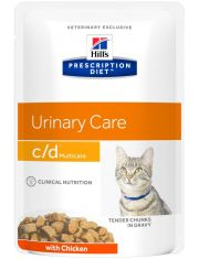 Prescription Diet c/d Multicare для кошек с курицей