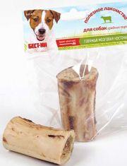 Кость говяжья мозговая для средних пород собак