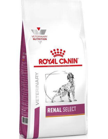 Renal Select (диета) для взрослых собак с пониженным аппетитом при хронической болезни почек