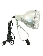 Светильник 02RL на зажиме, с защитной сеткой, 220мм