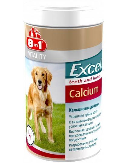 Кальциевая добавка для собак 8in1 Excel Calcium