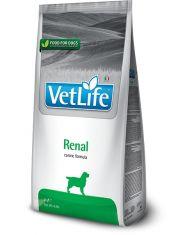 Vet Life Renal диетический сухой корм для собак при болезни почек и почечной недостаточности, курица