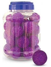 """Игрушка для кошек """"Мяч зернистый"""", фиолетовый"""