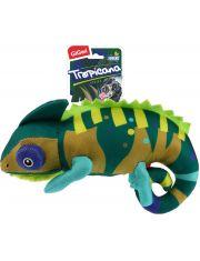 TROPICANA SERIES Хамелеон с пищалкой игрушка для собак