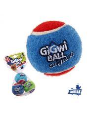 3 мяча с пищалкой игрушка для собак