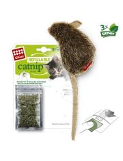 Мышка с кошачьей мятой + 3 пакетика